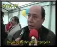 """B�y�kel�i Mehmet Ali Irtem�elik'in """"23 Nisan firsatcilari"""" ile ilgili s�ylediklerinin videosunu izlemek isterseniz fotografa tiklayin."""